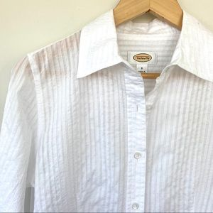 🌺 HOST PICK 🌺 Talbots cotton button down shirt